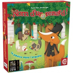 Nom d'un renard! : La poulice mène l'enquête | Pena, Marisa. Auteur