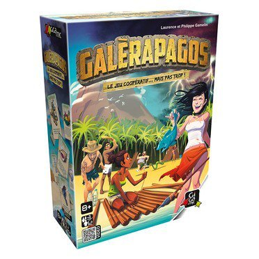 Galèrapagos : Le jeu coopératif... mais pas trop / Laurence et Philippe Gamelin   Gamelin, Laurence. Auteur