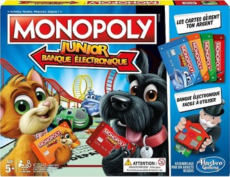 MONOPOLY JUNIOR BANQUE ELECTRONIQUE |