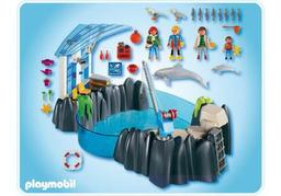 Delphinarium, Playmobil |