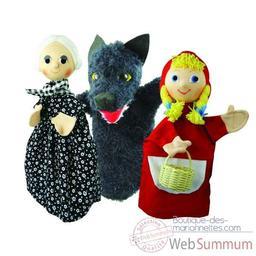 Marionnettes conte du petit chaperon rouge  