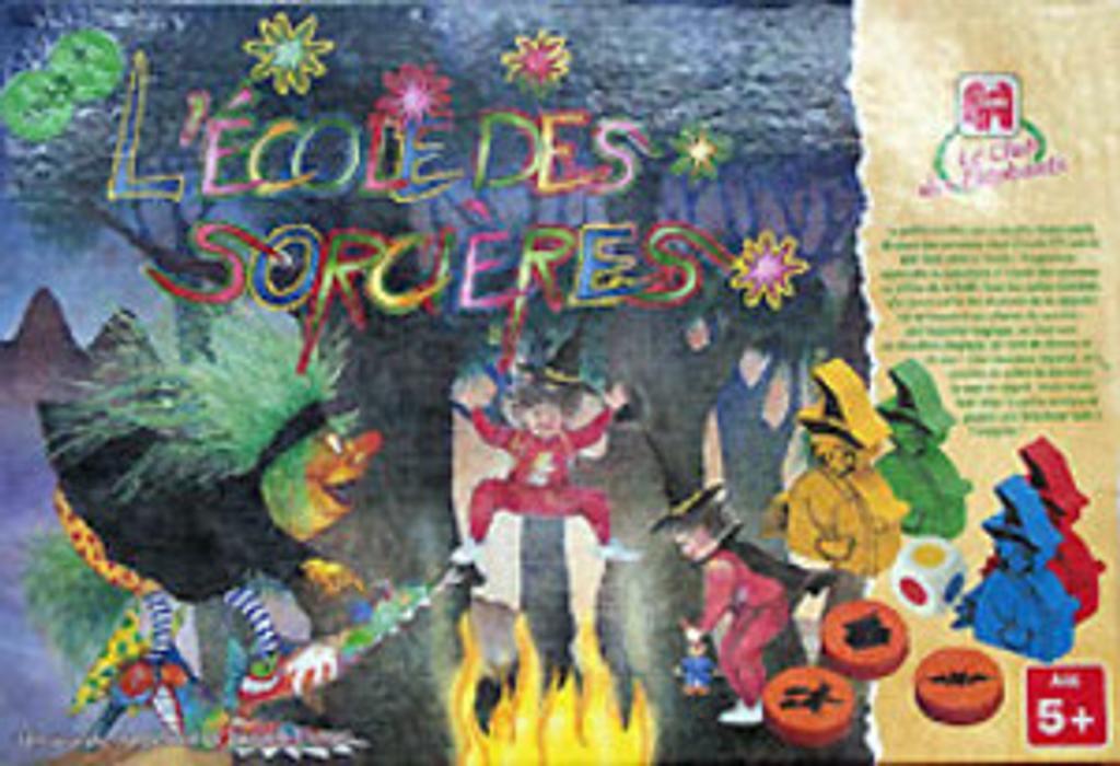 l'école des sorcieres | Schubert, Ingrid et Didier - Créateur de jeux