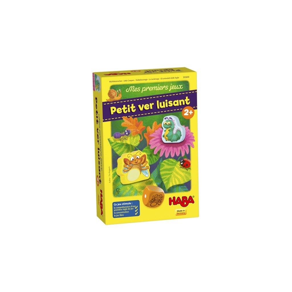 PETIT VER LUISANT : Mes premier jeux   Rogasch, Tim. Auteur