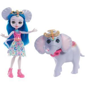 Lot de poupées Enchantimals : Gillian, Zelena, Ekatarina  
