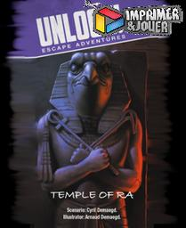 Unlock le temple de Ra : Print & Play |
