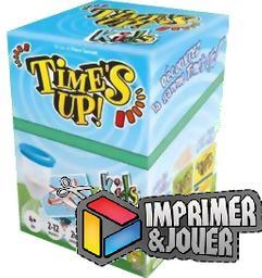 Timesup Kids (démo) : Print & Play | Peter SARRETT. Auteur