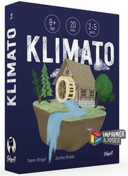 Klimato : Print and Play | Yoann BROGOL. Auteur