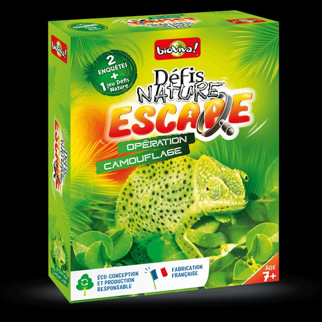 """Défis Nature Escape """" opération camouflage"""" : Chrono  """