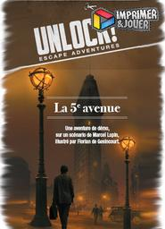 Unlock : La 5eme avenue : Print & Play | Demaegd, Cyril. Auteur