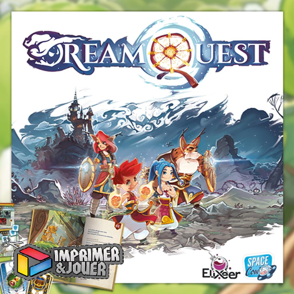 DreamQuest Démo : Print & Play |