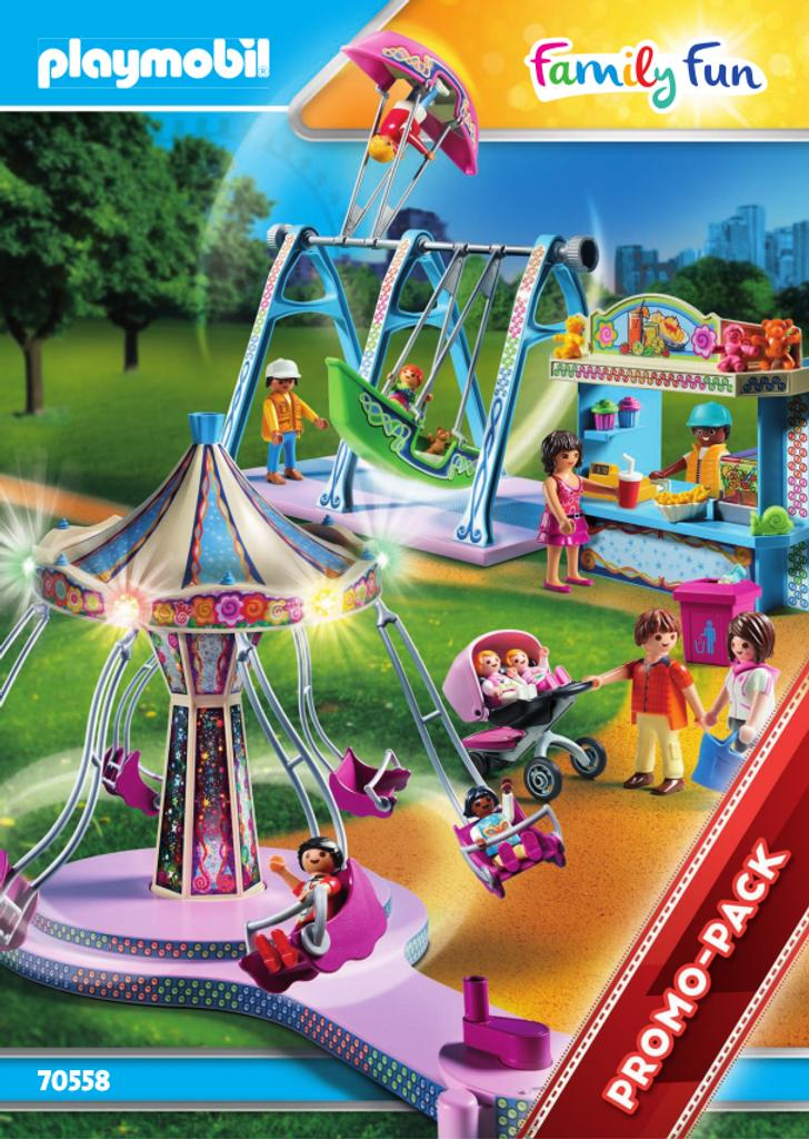 Playmobil parc d'attractions : family fun |