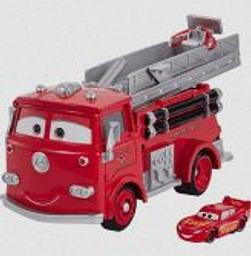 Camion de pompier : Cars Red  