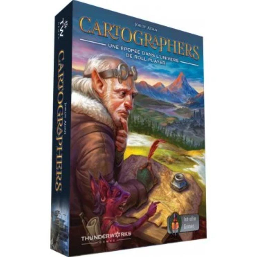 Cartograpoher : Une épopée dans l'univers de roll player | Adan, Jordi - Auteur de jeux