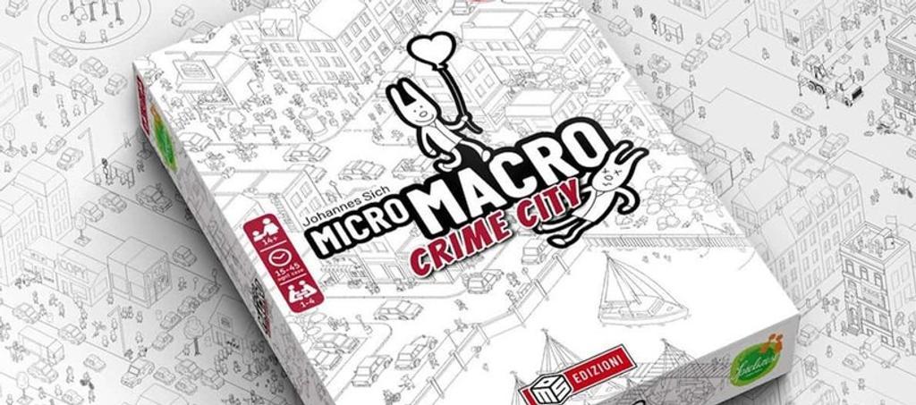 Micro Macro Crime City | Johannes SICH. Auteur
