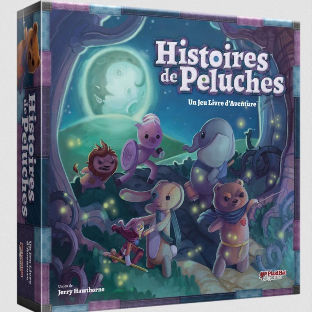 Histoire de peluches : Un jeu livre d'aventure | Jerry HAWTHORNE. Auteur