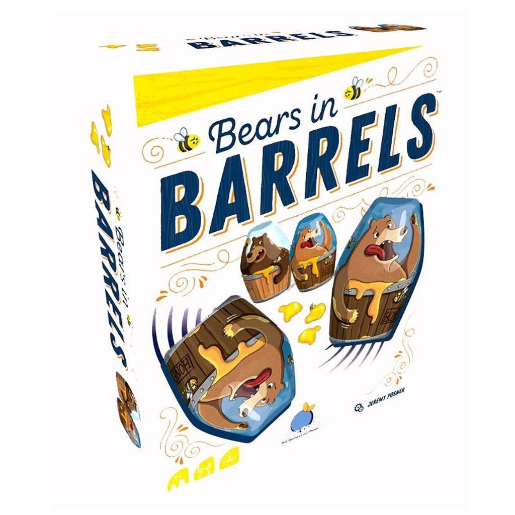 Bears in barrels |